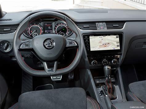 skoda octavia rs  interior cockpit hd