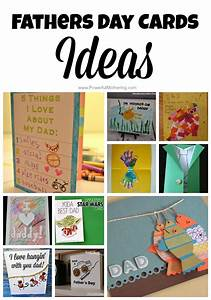 Fathers Day Cards Ideas for Toddlers & Preschoolers