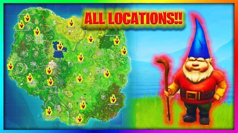 Every Gnome Location In Fortnite Battle Royale  Week 7