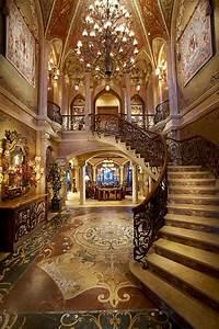 Opulent 33,000 Square Foot Oceanfront Mega Mansion In