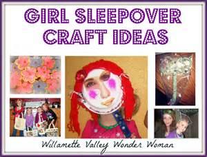 Melissa Kaylene: Girls Sleepover Craft Ideas