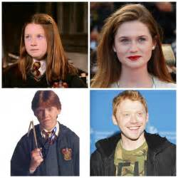 Cast of Harry Potter Characters Then and Now