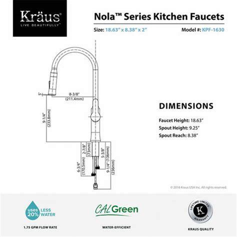 Kraus Nola Single Lever Pull down Kitchen Faucet
