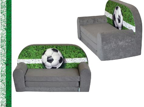 mini canap lit mini canapé lit enfant foottballfauteuils poufs matelas