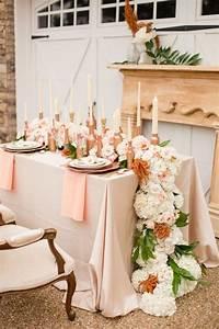 Rose Gold Decor : 50 amazing vintage bronze copper wedding color ideas deer pearl flowers ~ Teatrodelosmanantiales.com Idées de Décoration