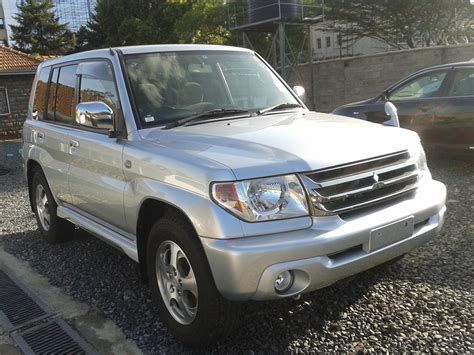 mitsubishi pajero io 2007 mitsubishi pajero io pictures information and
