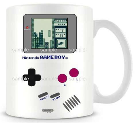 Diy New Nintendo Gameboy Ceramic White Coffee Mug Pokemon