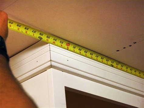 how to cut crown molding for kitchen cabinets how to install kitchen cabinet crown molding how tos diy 9892