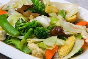 "Mixed Vegetable Stir Fry (""Buddhist's Delight"")"