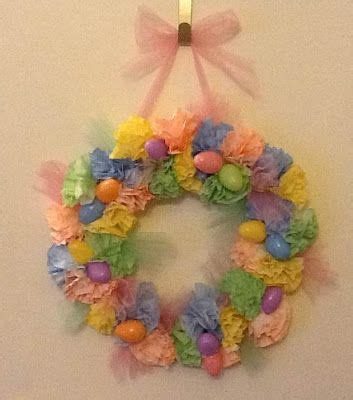 … had the tutorial for this wreath pinned on my board. Pinterest Addict! | Coffee filter wreath, Crafts, Holiday