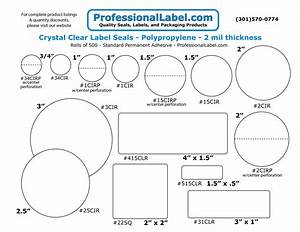 clear labels stickers and seals With clear round printable stickers