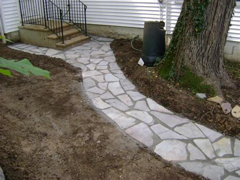 flagstone paver walkway weilbacher landscaping paver flagstone patios and