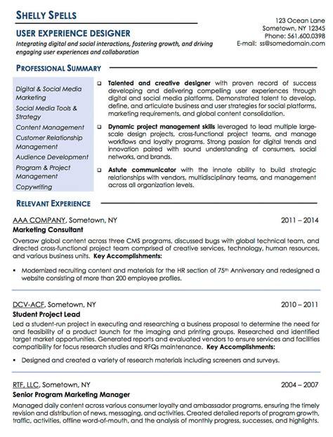 Digital Media Designer Resume by Resume Exles Cv Sle Resume Templates Rso Resumes