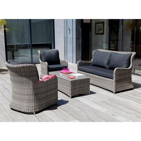 canape jardin aluminium salon de jardin canape maison design wiblia com