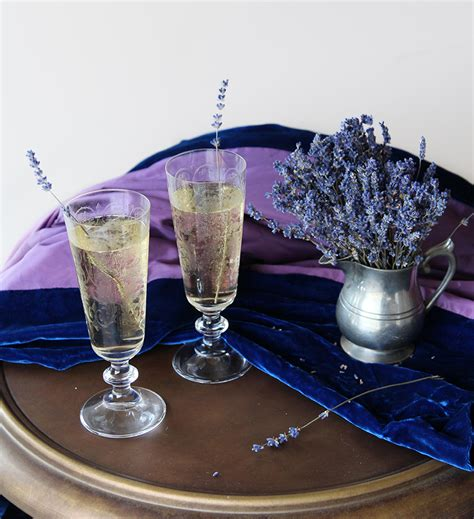 lavender cocktail lavender fields cocktail camille styles
