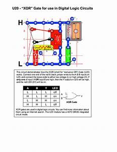 Xor Gate Electrical Circuit