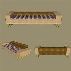 Wie Baue Ich Ein Gartenhaus : couch und sofa selber bauen bei ~ Markanthonyermac.com Haus und Dekorationen