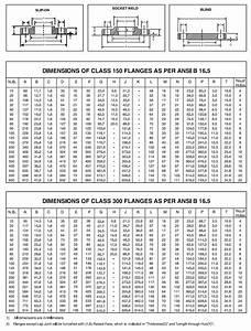 2500 Flange Bolt Chart Asme B16 5 Flanges Buy Ansi B16 5 Pipe Flanges
