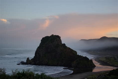 Lion Rock 2 Piha Piha Beach Piha New Zealand