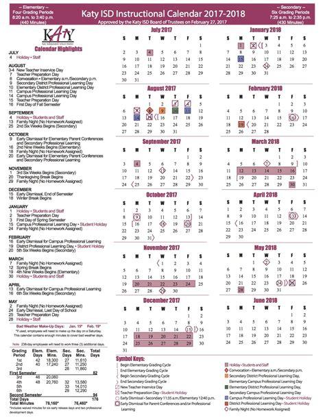 katy isd calendar qualads