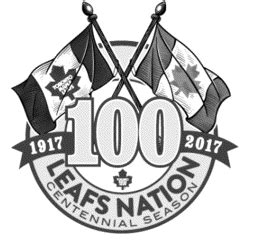 toronto maple leafs register centennial logo chris creamer s sportslogos net news and blog