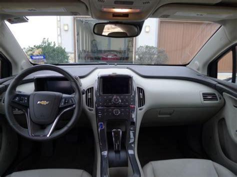 buy   chevrolet volt blue topaz beige interior premium trim   options  dallas