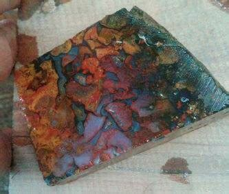 koleksi barang antik dan langka gemstone bahan baku batu pancawarna