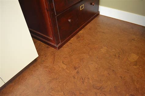 Floating Floor In Bathroom Forna Autumn Ripple Cork Tiles Most Popular Color Cork