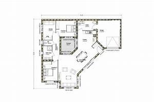 Plan Maison Contemporaine Toit Plat : maison bois avec patio constructeur maison bois arcadial ~ Nature-et-papiers.com Idées de Décoration