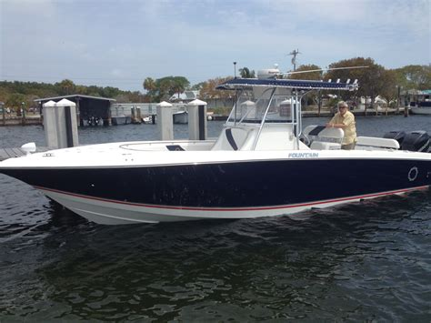 Fountain Boats Center Console by Fountain 32 Foot Center Console Reel Nice Charters Llc
