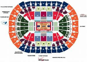 Capital Rep Seating Chart 2013 14 Wizards Group Tickets Washington Wizards