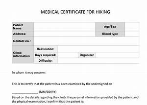 Climb health Sample medical certificate for hiking  Pinoy Mountaineer
