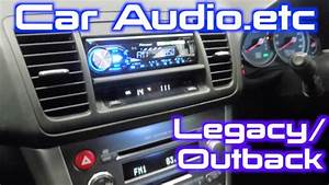 How To Install A Stereo Into A Subaru Legacy  Outback  2003-2009
