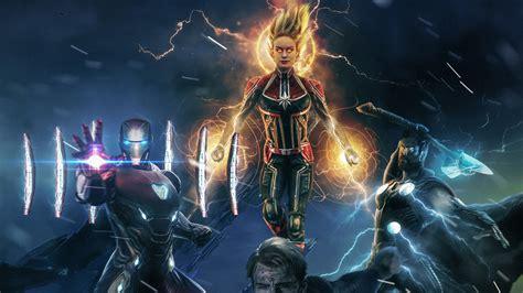 Avengers 4 Endgame Superheroes Wallpapers | HD Wallpapers ...