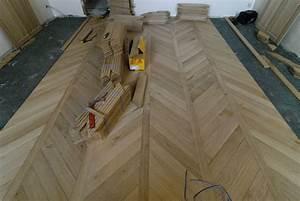 flooring being laid parquets de tradition 15 With parquet fougère