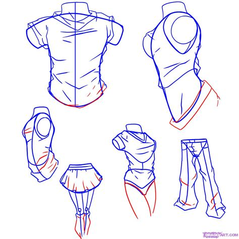 How to Draw Anime Clothes