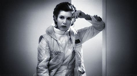 Carrie Fisher Princess Leia Xxxiii By Dave Daring On