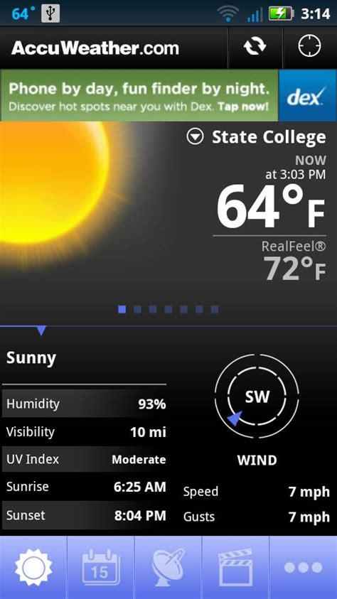 accuweather android app accuweather android app review accuweather for