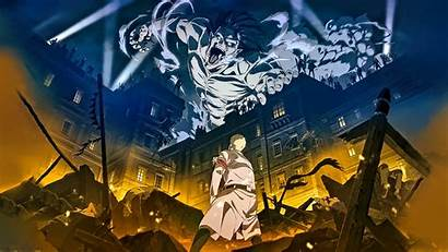 Titan Attack Season Shingeki Kyojin Final 4k