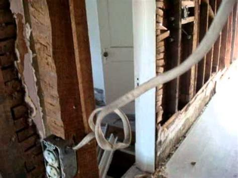 Illegal Unsafe Wiring Older Homes Youtube