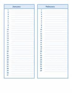 Birthday And Anniversary Calendar Template birthday and anniversary calendar template formal word
