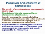 Earthquakes And Evs