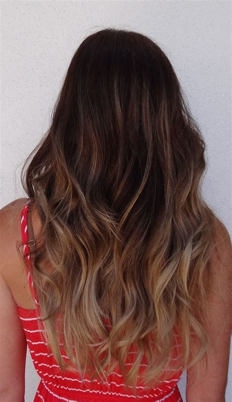 Dark Brown To Light Brown Ombre Hair Hairspiration
