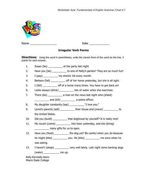 images  verb worksheet  print  printable