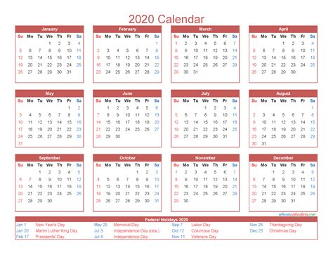month calendar printable  excel image
