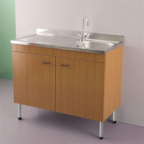 mobile lavello mobile sottolavello cucina 100 2 ante montato per