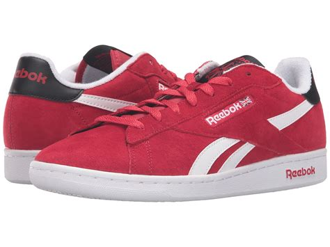 reebok classics mens white navy atomic bolton chalk reebok s casual fashion shoes and sneakers