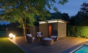 Saunahaus Im Garten : viel platz zum schwimmen pool magazin ~ Sanjose-hotels-ca.com Haus und Dekorationen