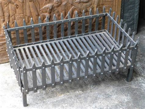 fireplace wood grate 19th century fireplace basket or grate at 1stdibs