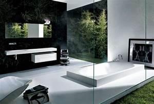 salle de bain et deco minimaliste 117 photos uniques With salle de bain design avec posters photos décoratives
